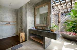 Villa Ipanema Bali - Bedroom one ensuite vanity