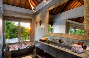 Villa Ipanema Bali - Bedroom three ensuite bathroom